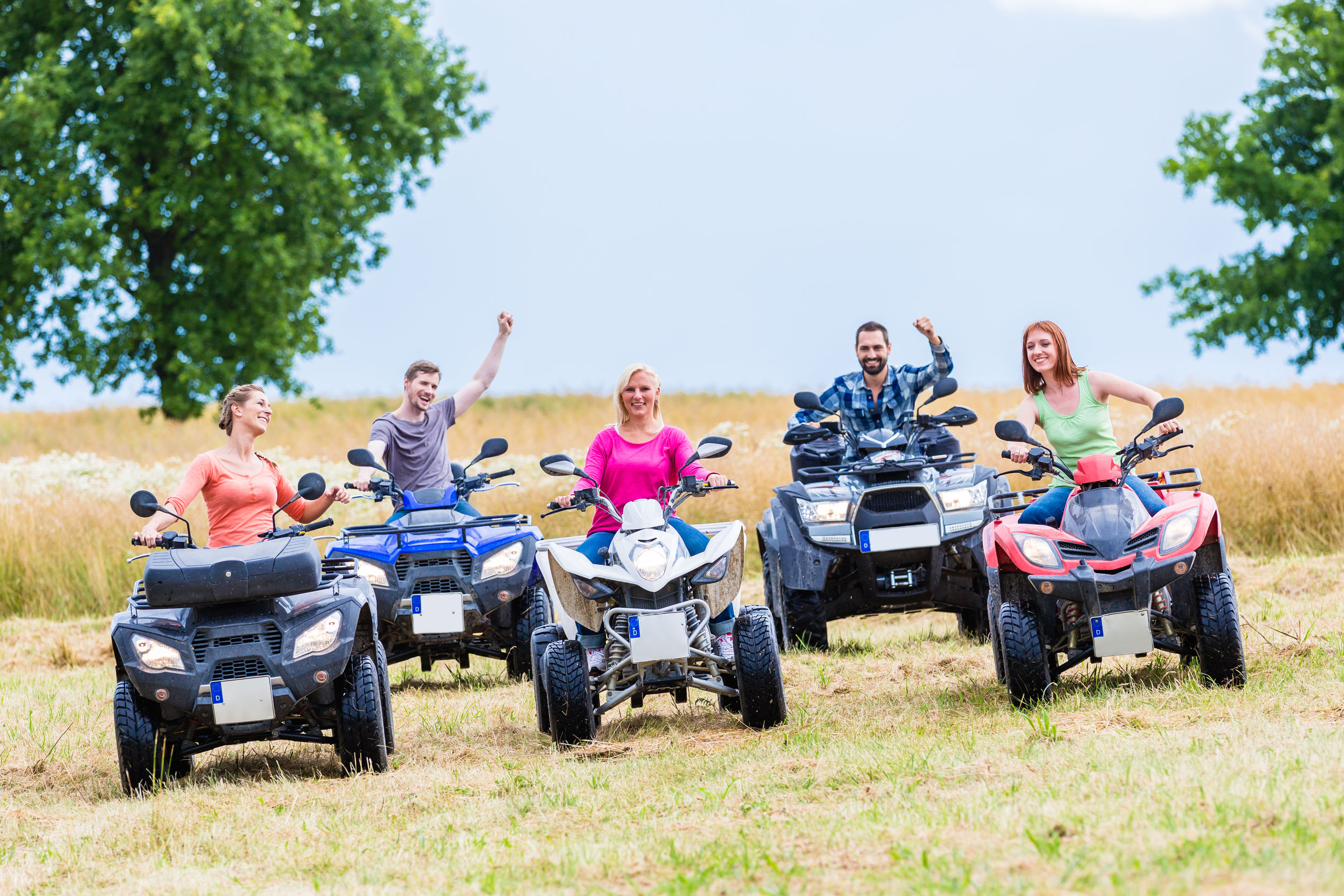 Dallas, Fort Worth, Houston, San Antonio, TX.  ATV Insurance